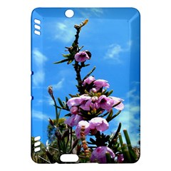 Pink Flower Kindle Fire HDX 7  Hardshell Case
