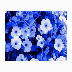 Blue Flowers Glasses Cloth (Small)