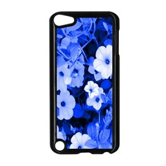 Blue Flowers Apple iPod Touch 5 Case (Black)