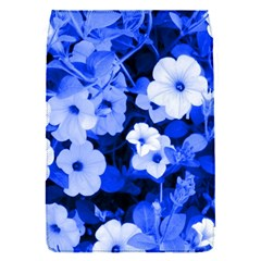 Blue Flowers Removable Flap Cover (Small)
