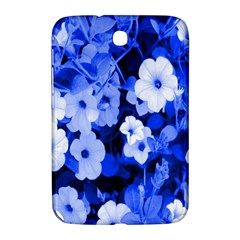Blue Flowers Samsung Galaxy Note 8.0 N5100 Hardshell Case