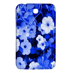 Blue Flowers Samsung Galaxy Tab 3 (7 ) P3200 Hardshell Case