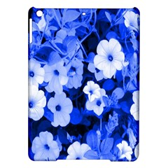 Blue Flowers Apple Ipad Air Hardshell Case