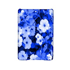 Blue Flowers Apple iPad Mini 2 Hardshell Case