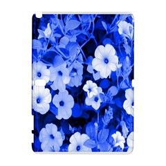 Blue Flowers Samsung Galaxy Note 10.1 (P600) Hardshell Case