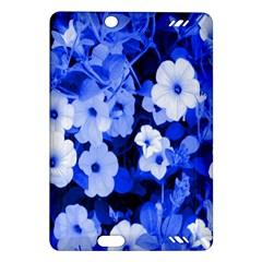 Blue Flowers Kindle Fire Hd 7  (2nd Gen) Hardshell Case
