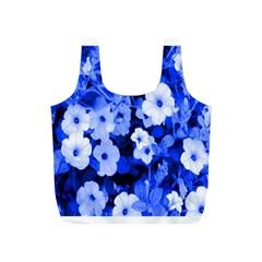 Blue Flowers Reusable Bag (s)