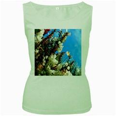 Australia Flowers Women s Tank Top (Green)