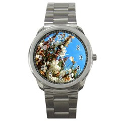 Australia Flowers Sport Metal Watch