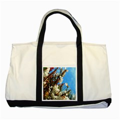 Australia Flowers Two Toned Tote Bag