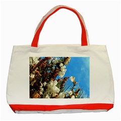 Australia Flowers Classic Tote Bag (Red)
