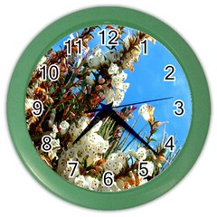 Australia Flowers Wall Clock (color)