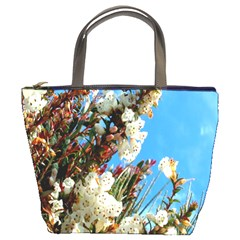 Australia Flowers Bucket Handbag