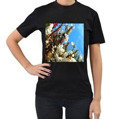 Australia Flowers Women s T-shirt (Black)