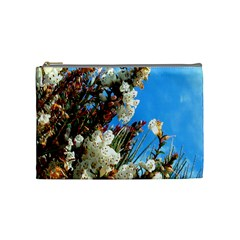 Australia Flowers Cosmetic Bag (Medium)