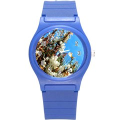 Australia Flowers Plastic Sport Watch (small)
