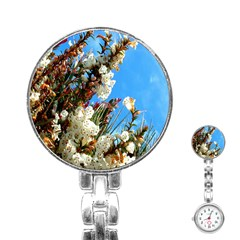 Australia Flowers Stainless Steel Nurses Watch