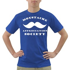 Moustache Appreciation Society Men s T-shirt (Colored)