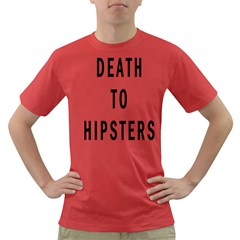 Death to Hipsters  Men s T-shirt (Colored)