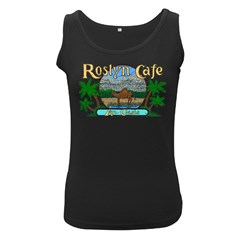Roslyn Cafe  Women s Tank Top (black)