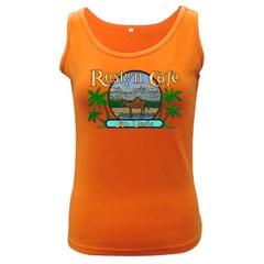 Roslyn Cafe  Women s Tank Top (dark Colored)