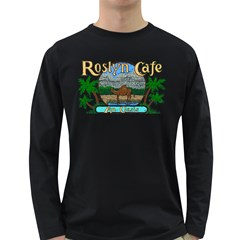 Roslyn Cafe  Men s Long Sleeve T Shirt (dark Colored)