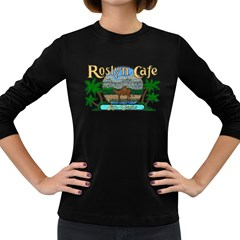 Roslyn Cafe  Women s Long Sleeve T-shirt (Dark Colored)