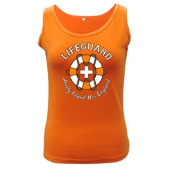 Lifeguard Amity Island Women s Tank Top (Dark Colored)
