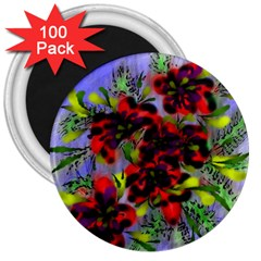 Dottyre 3  Button Magnet (100 pack)