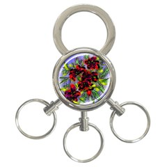 Dottyre 3-Ring Key Chain