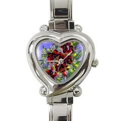 Dottyre Heart Italian Charm Watch