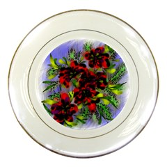 Dottyre Porcelain Display Plate