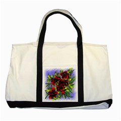 Dottyre Two Toned Tote Bag
