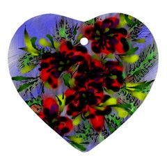 Dottyre Heart Ornament (Two Sides)