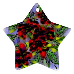 Dottyre Star Ornament (two Sides)