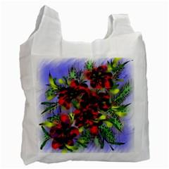 Dottyre White Reusable Bag (one Side)