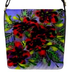 Dottyre Flap Closure Messenger Bag (Small)