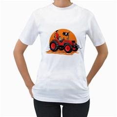 Antimainstream Pirates Women s T-Shirt (White)