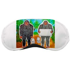 2 Yowie A,text & Furry In Outback, Sleeping Mask