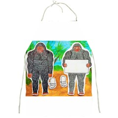 2 Yowie A,text & Furry In Outback, Apron