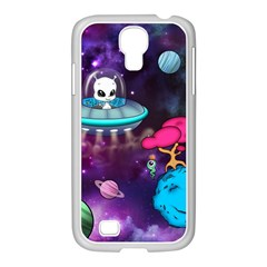 Space Buddies Mobile Samsung Galaxy S4 I9500/ I9505 Case (white)