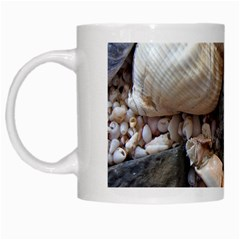 Beach Treasures White Coffee Mug
