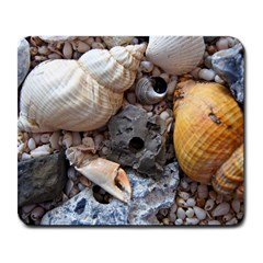 Beach Treasures Large Mouse Pad (Rectangle)