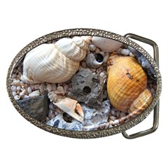 Beach Treasures Belt Buckle (oval)