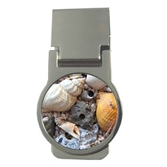 Beach Treasures Money Clip (round)
