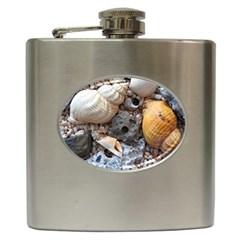 Beach Treasures Hip Flask