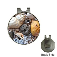 Beach Treasures Hat Clip with Golf Ball Marker