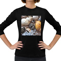 Beach Treasures Women s Long Sleeve T Shirt (dark Colored)