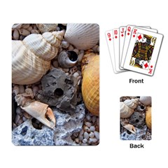 Beach Treasures Playing Cards Single Design