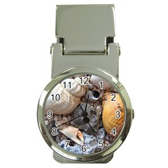 Beach Treasures Money Clip with Watch